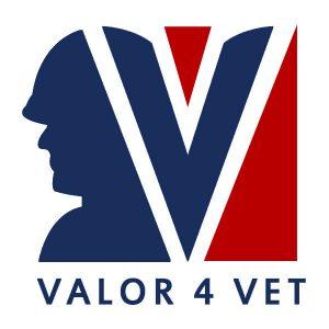 Valor 4 Vet Logo